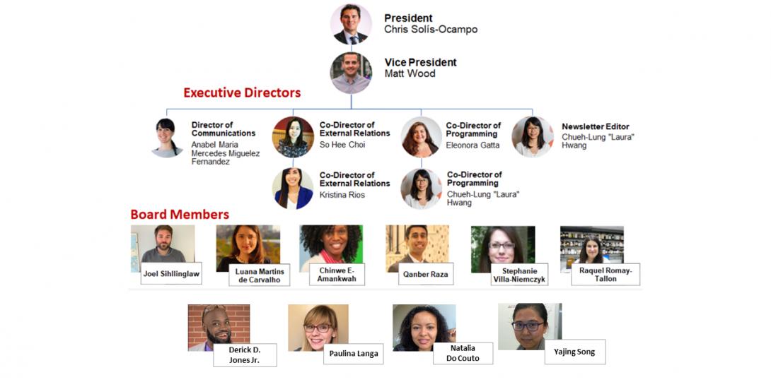 2020-2021 PDA Executive Board