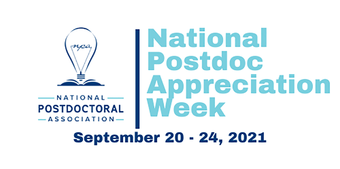 Logo for National Postdoc Appreciation Week